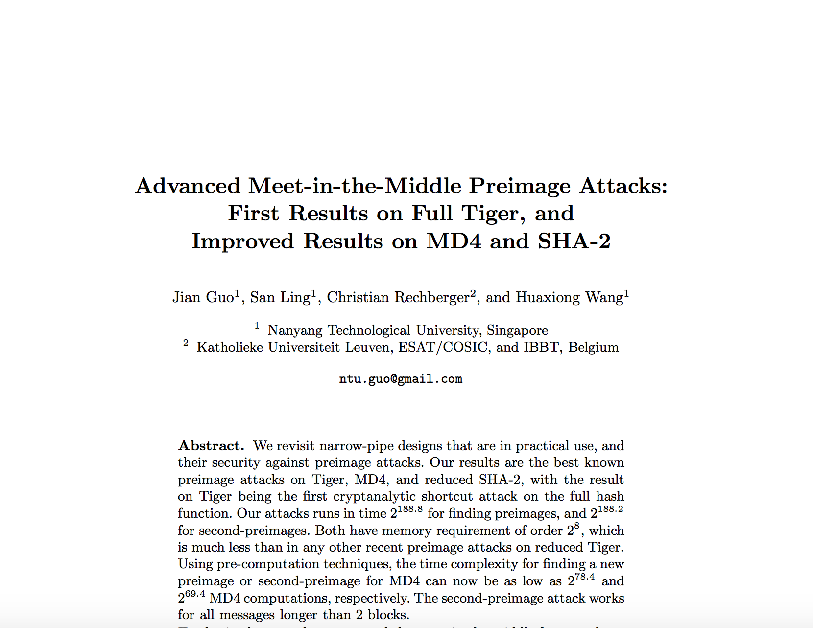 Advanced Meet-in-the-Middle Preimage Attacks- First Results on Full Tiger, and Improved Results on MD4 and SHA-2.png