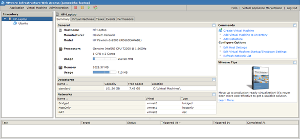 The web interface of VMware Server 2.png